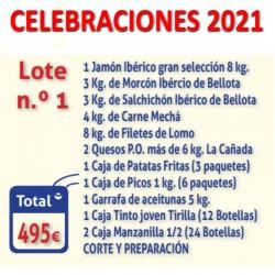 Celebraciones Lote Nº1